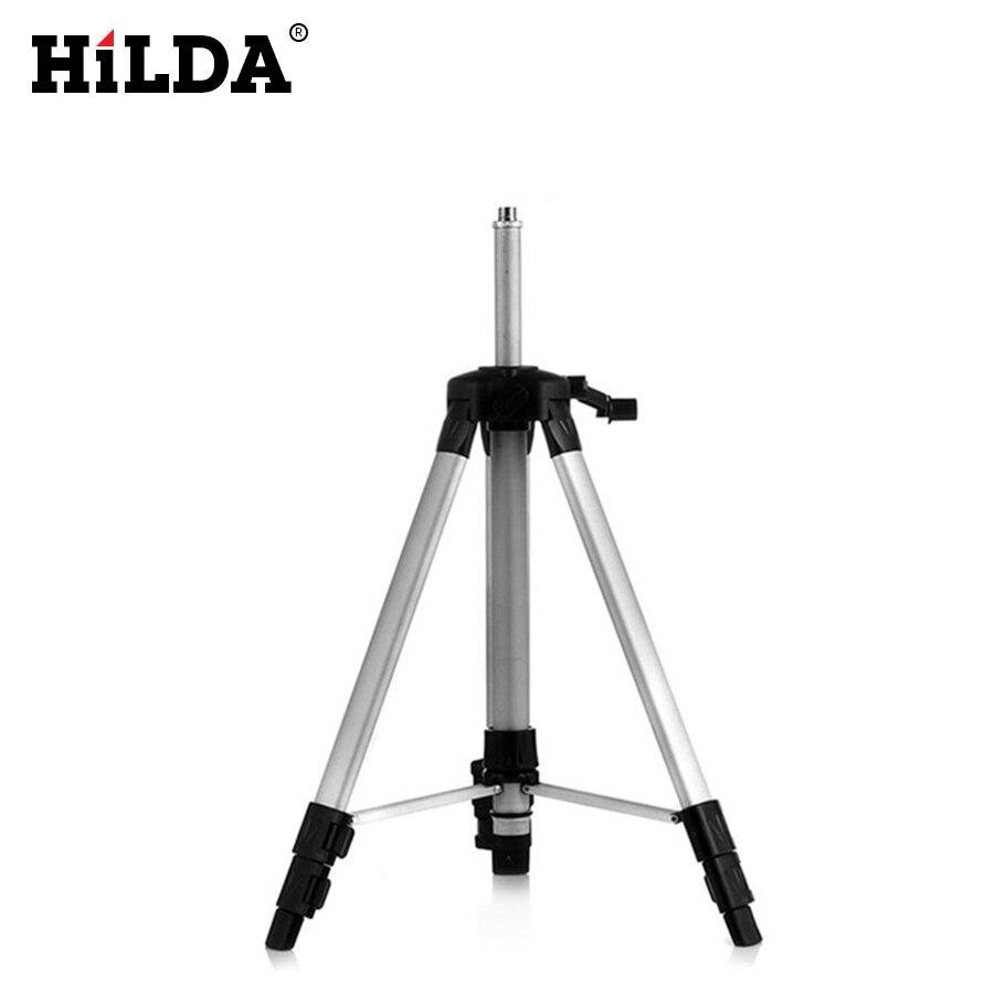 HILDA 120 cm laser-niveau stativ nivel laser stativ professionelle carbon stativ für laser level aluminium Stativ mit 5/8 adapeter