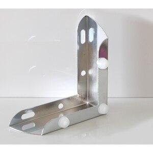 Image 3 - 4 stks/partij 110*110 * H55mm Meubels Bad Koffie Bar Sofa Stoel Been Voeten Met Schroeven, chrome/Rvs Voor Optie