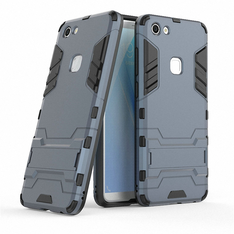 <font><b>3D</b></font> Combo Armor <font><b>Case</b></font> for <font><b>vivo</b></font> V7 Y75 for <font><b>vivo</b></font> V7 Plus V7Plus for <font><b>vivo</b></font> <font><b>Y69</b></font> Shockproof Phone Back cover <font><b>Case</b></font> Fundas Coque Etui> image