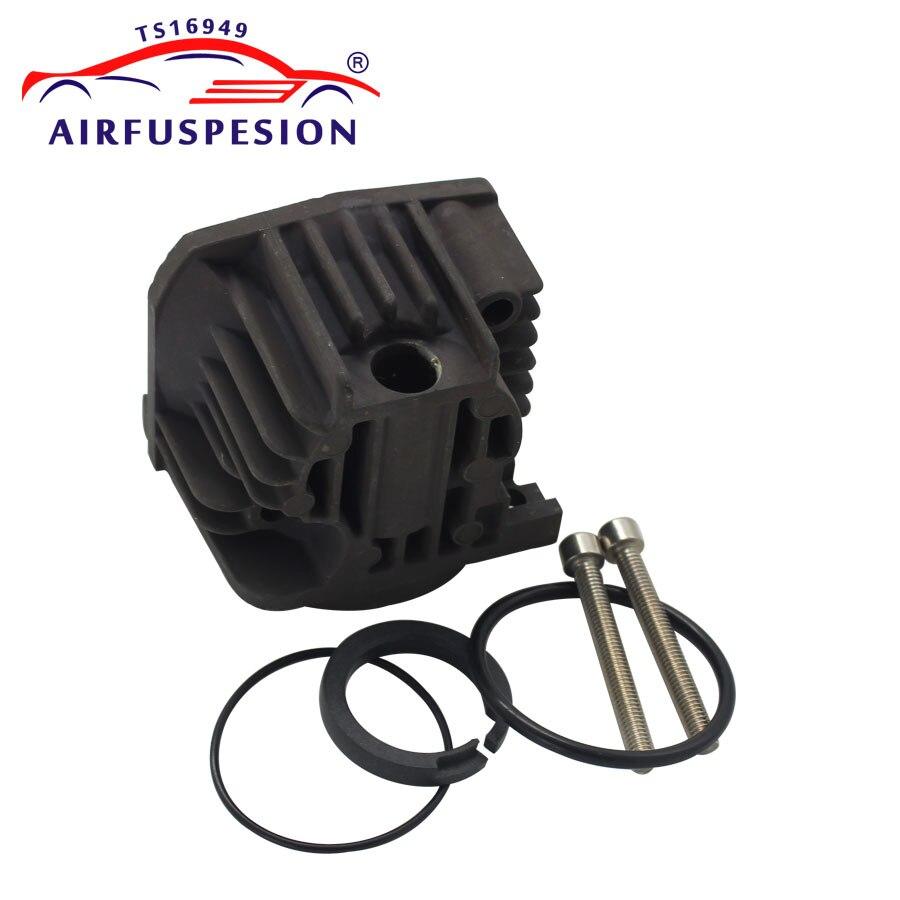 For Audi A6 C6 Q7 Touareg Cayenne Air Suspension Compressor Pump Cylinder Head Piston Ring O Rings Screw 4L0698007A 7L0698007D