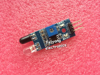 Ir infrared obstacle avoidance sensor module for arduino smart car robot 3 wire reflective photoelectric new.jpg 200x200