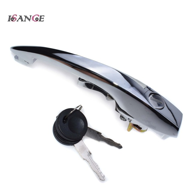 Chrome Door Handles >> Isance Front Left Or Right Outside Chrome Door Handle 113837205m For