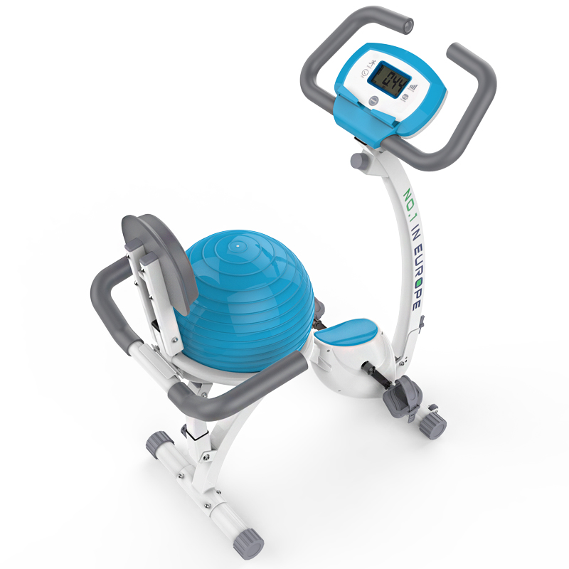 Home Exercise Equipment Stepper: Techsport Upright Stepper With Yoga Ball Super Mute