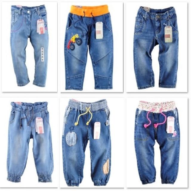 Children jeans girls jean pant Denim Shorts Boys Trousers Jeans For Boys