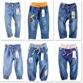 Crianças calças de brim meninas calça jeans Shorts Jeans Meninos Calças Jeans Para Meninos