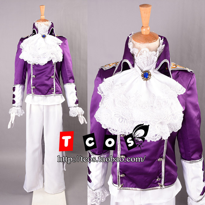 Free shipping Newest Vocaloid Gakupo Tuxedo Cosplay Costume Perfect Custom For you