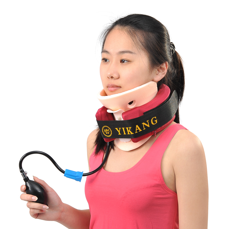 Traction accueil traitement de la spondylose cervicale massage vertèbres instruments fixes avec raideur du cou soins infirmiers