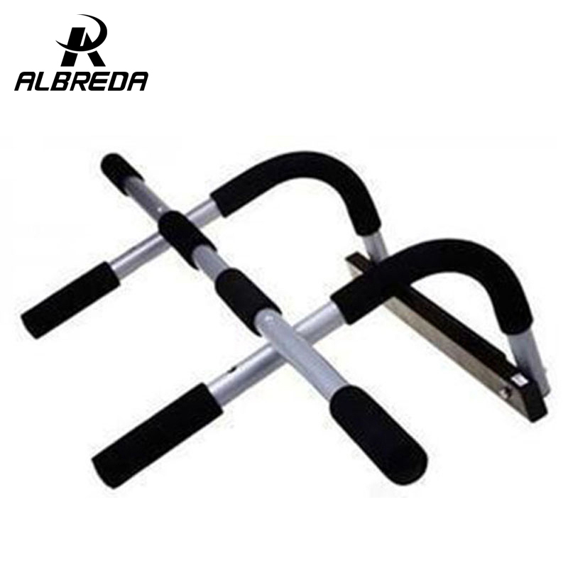rodex black body fitness exercise home gym gymnastics workout trainning door pull up bar push portable
