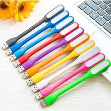Mini LED USB Flashlight Reading Light Flexible Bright Night Lamp Portable lanterna Lighting Tablet PC Power Bank Notebook Laptop