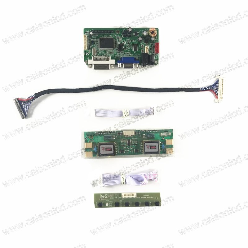 RTD2261 LCD controller board support DVI VGA Audio for 19 inch LCD panel 1280X1024 M190EG01 V0