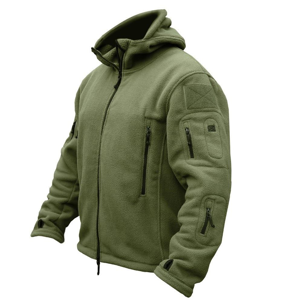 TAD Outdoors Military Tactical Soft Shell Fleece Hoody Jacket Men Sportswear Thermal Hoodies Jacket