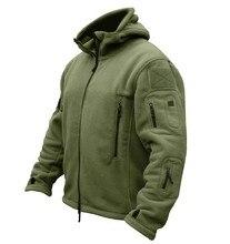 TAD Outdoors Military Tactical Soft Shell Fleece Hoody font b Jacket b font font b Men