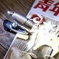 Новый 2016 Портативный Путешествия Чтение Свет 3 Светодиодов Клип на Свет Книга, Фортепиано Серебряный СВЕТОДИОДНЫЕ Фонари Книга фонарик 3 * Клетки Кнопки Питания