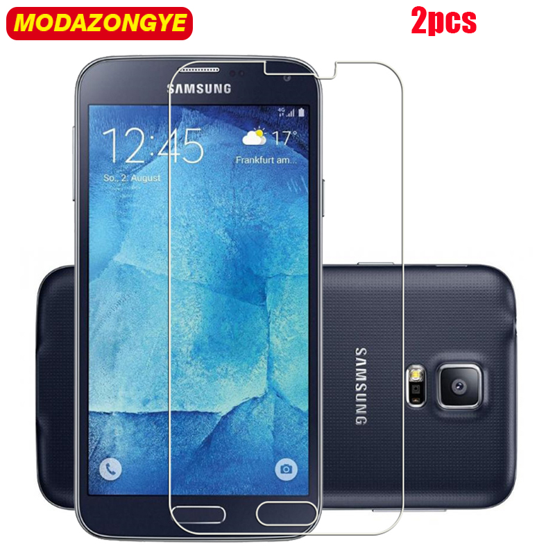 2Pcs Tempered Glass For Samsung Galaxy S5 Screen Protector Samsung Galaxy S5 i9600 G900F S5 Neo SM-G903F G903F G903 Glass Film(China)