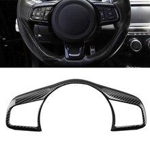 Accessori auto Per Jaguar F-PACE fpace Styling 2016 2017 2018 ABS del Bicromato di Potassio Dell'automobile Tasto Al Volante telaio Coperture Trim