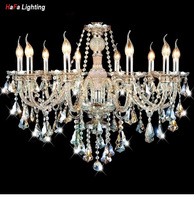 Crystal Ceiling Light Living Room Lights Romantic Lighting Dome Light Lamp Luxury Chandeliers And Pending K9