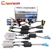 Cawanerl 55W H1 Canbus HID Xenon Kit 3000K-12000K Lamp AC Ballast Anti Flicker Error Decoder Replacement Car Headlight Fog Light