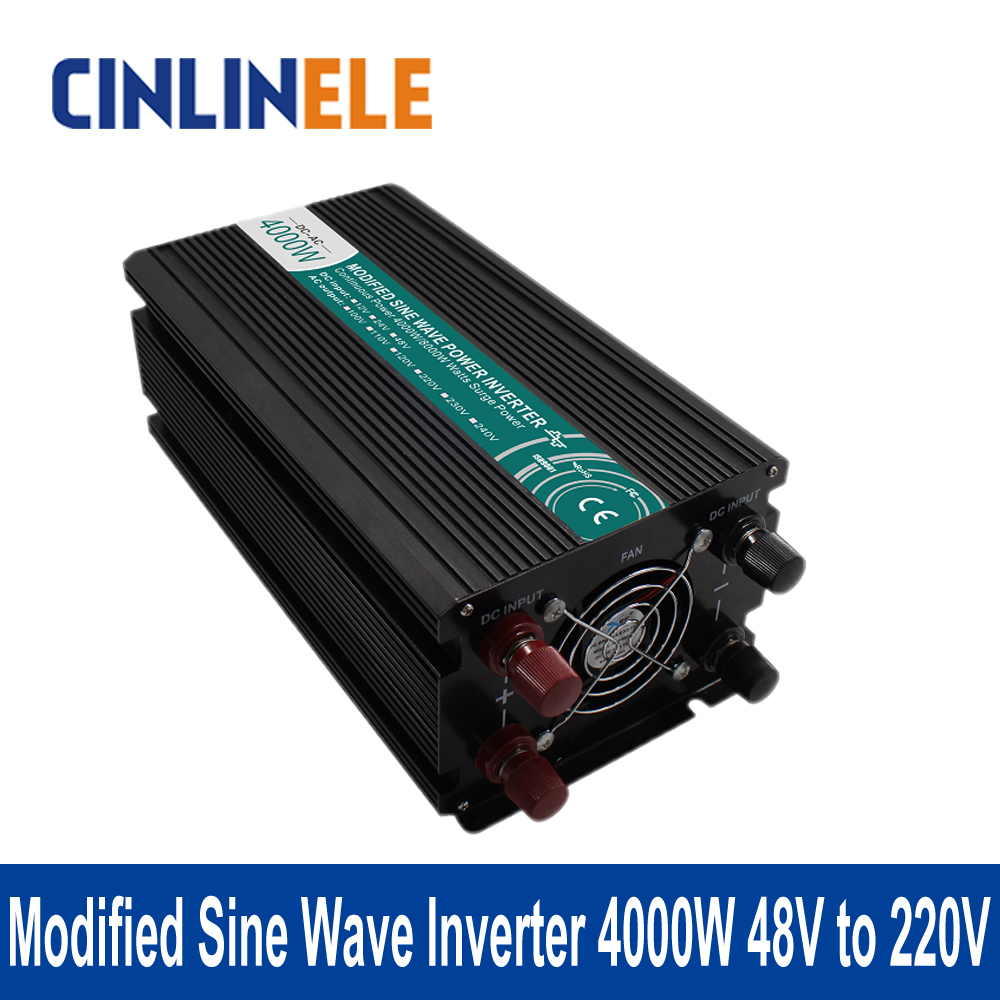 Modified Sine Wave Inverter 4000W CLM4000A-482 DC 48V to AC 220V 4000W Surge Power 8000W Power Inverter 48V 220V