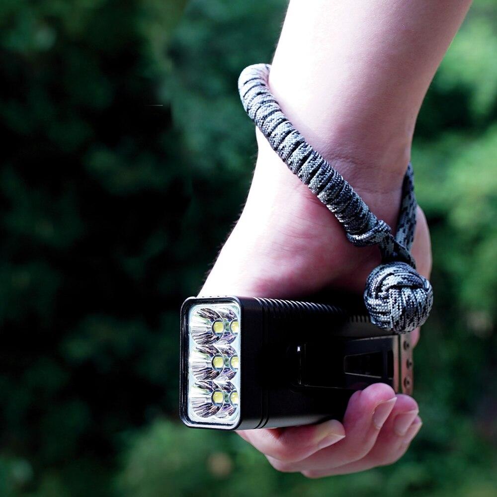 Оптовая продажа NITECORE TM10K перезаряжаемый высокий свет 10000лм CREE XHP35 HD светодиодный фонарик Встроенный аккумулятор факел прожектор для кемпинг