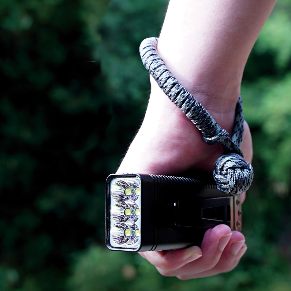 Оптовая продажа NITECORE TM10K перезаряжаемый высокий свет 10000LM CREE XHP35 HD светодиодный фонарик Встроенный аккумулятор фонарь для кемпинга
