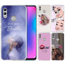 Thank U Next Ariana Grande Case for Huawei Honor 8X Y9 9 10 Lite Play 8C 8S 8A Pro V20 20i 10i Y6 Y7 2019 Hard PC Phone Cover(China)