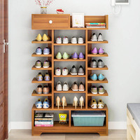 Simple shoe rack Household Economic Shoes Cabinet Multi layer entrance shoe rack Multifunctional Storage rack Home Furniture