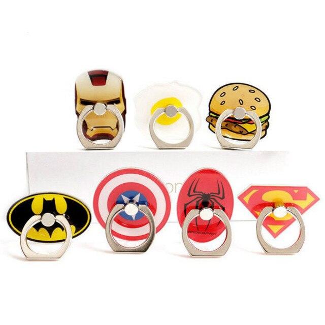 Superheros Finger Ring Smartphone Stand