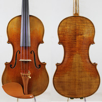 Italy Oil Varnish!Antique Oil Varnish!Copy Guarneri Violin 4/4 M5018 Powerful Clear Tone!, EMS Free shipping!