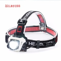Body Motion Sensor High Power Cree LED Head Lamp Torch Powerful USB Rechargeable Portable Flashlight Headlight