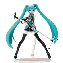 15cm Movable Anime Action Figure Hatsune Miku Figma 014 Model Doll Figurine PVC Action Figure Model Toys недорого
