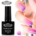 Perfect Summer Nail Gel Polish Temperature Change Chameleon Color Changing UV LED Soak off Gel Polish Choose 1 Color