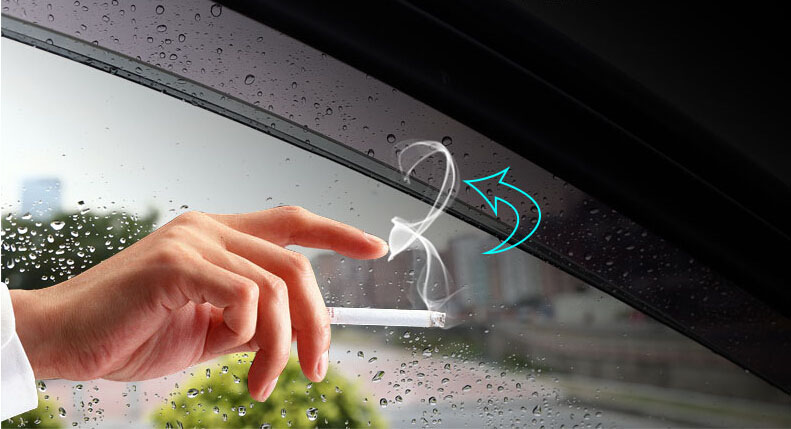 Auto rain shield window visor car window deflector sun visor covers stickers 7