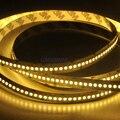30 M SMD 3528 Flexível Luz de Tira CONDUZIDA 240led/m Iluminação de Tira 1200 LEDs IP20 Flex Led strip Quente branco Direto Da Fábrica