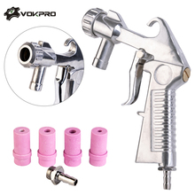 4/5/6/7mm Nozzle Sandblaster Air Siphon Feed Blast Nozzle Ceramic Tips Abrasive Sand Blasting