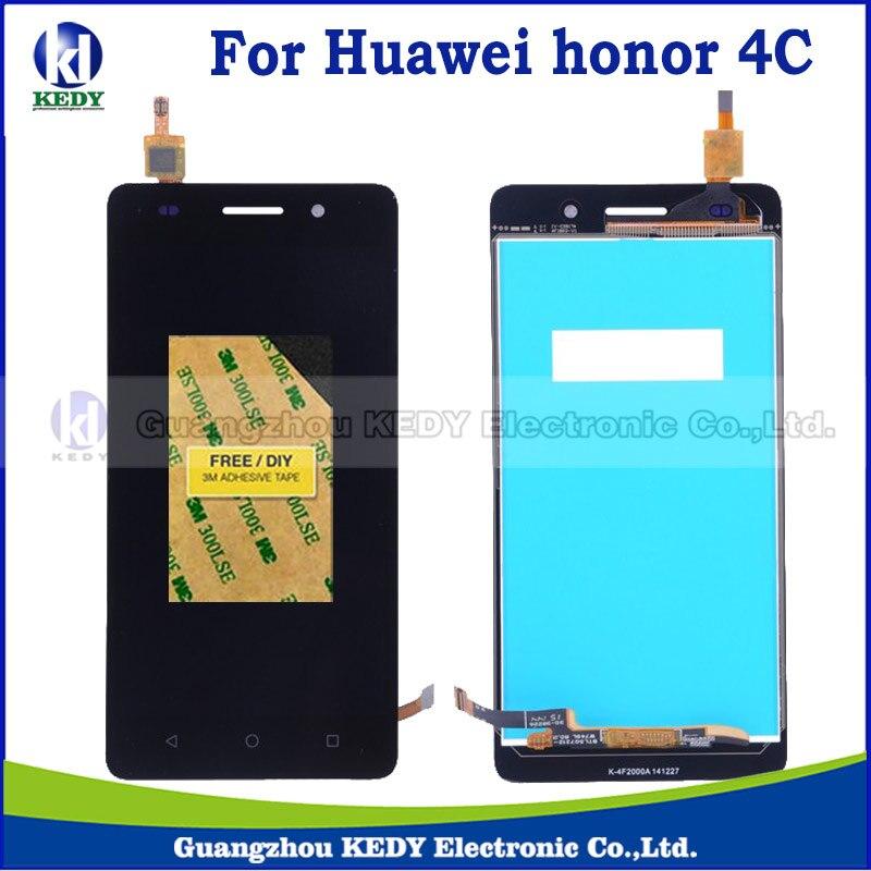 1 unids para huawei honor 4c pantalla lcd con pantalla táctil digitalizador asam