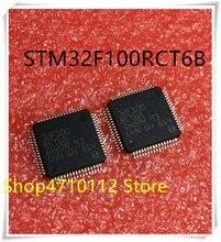 NEW 10PCS/LOT STM32F100RCT6B 32F100RCT6B STM32F100 LQFP-64 IC