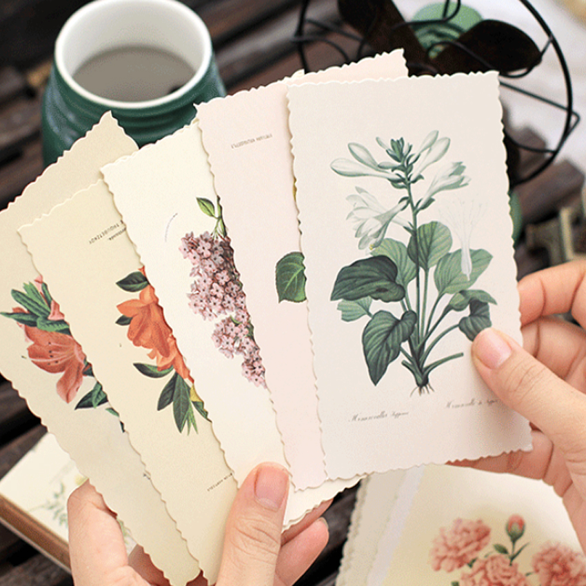30Pcs/lot Cute The Mood For Love Pavilion Postcard Greeting Card Envelope Gift Greeting Card/Wish Card/ New Year Gifts