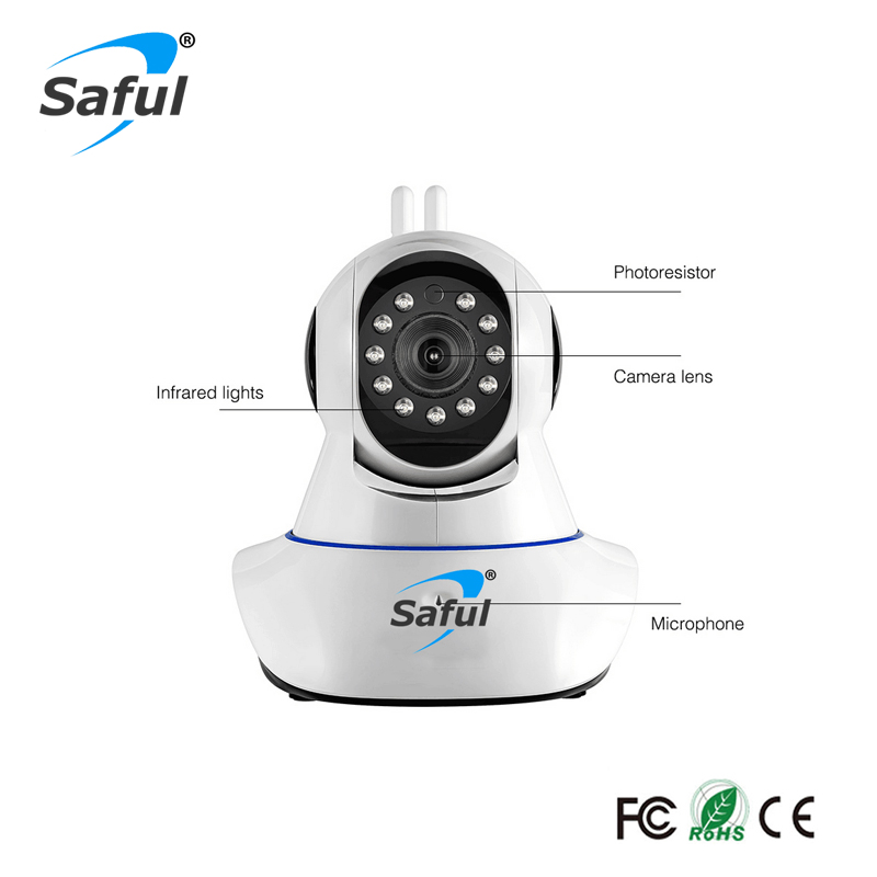 Saful Wireless IP Kamera WiFi Home Security Onvif Kameraüberwachung - Schutz und Sicherheit - Foto 4