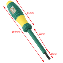 Accurate Electrical Tester Pen 220V Durable  Screwdriver With Voltage Test Power Detector Probe Tools For Industry Mine