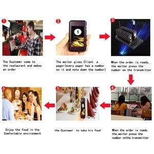 Image 5 - Retekess T111 Restaurant Pagers 20 Call Draadloze Calling Paging Queuing Systeem Gast Belknop Restaurant Pagerequipment