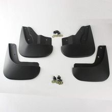 Car-Styling 4pcs Car Accessories Mud Flap Mudguard Exterior Splash Protector Front Rear Fender Cover For Volkswagen Jetta