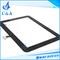 Panel táctil con flex cable para samsung galaxy tab 2 p3110 GT-P3110 7.0 pantalla táctil digitalizador 1 unidades el envío libre negro blanco