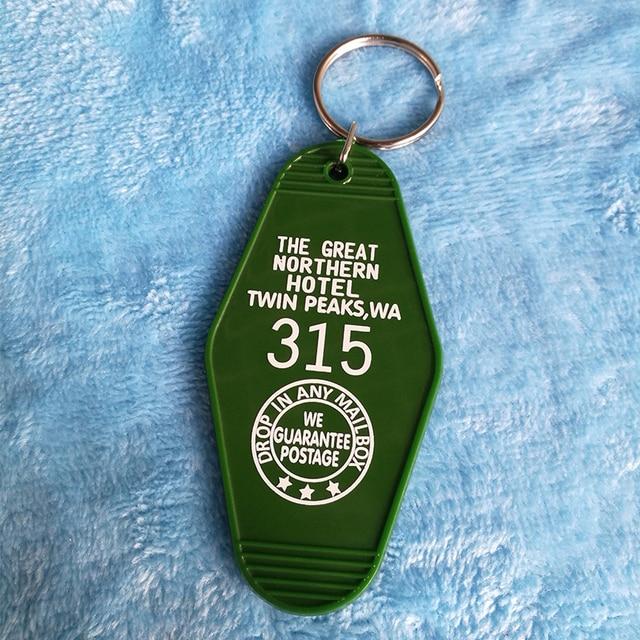 The Great Bắc Khách Sạn Room #315 Twin Peaks KeyTag Key chain KeyRing