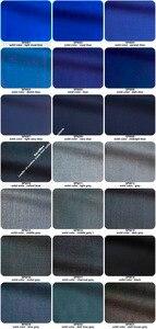 Image 4 - מדהים Slim כהה כחול חתונה חליפות גברים תפור לפי מידה גברים כחול חליפת 2019 אופנה סגנון עסקי חליפות מותאם כחול טוקסידו