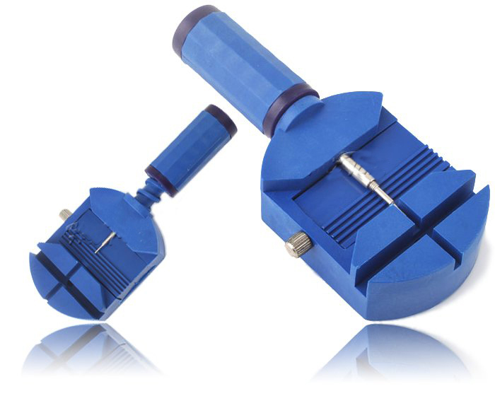 цена на Watch Band Link Strap Pin Remover Adjust Repair Tool,hours repair tools Blue color
