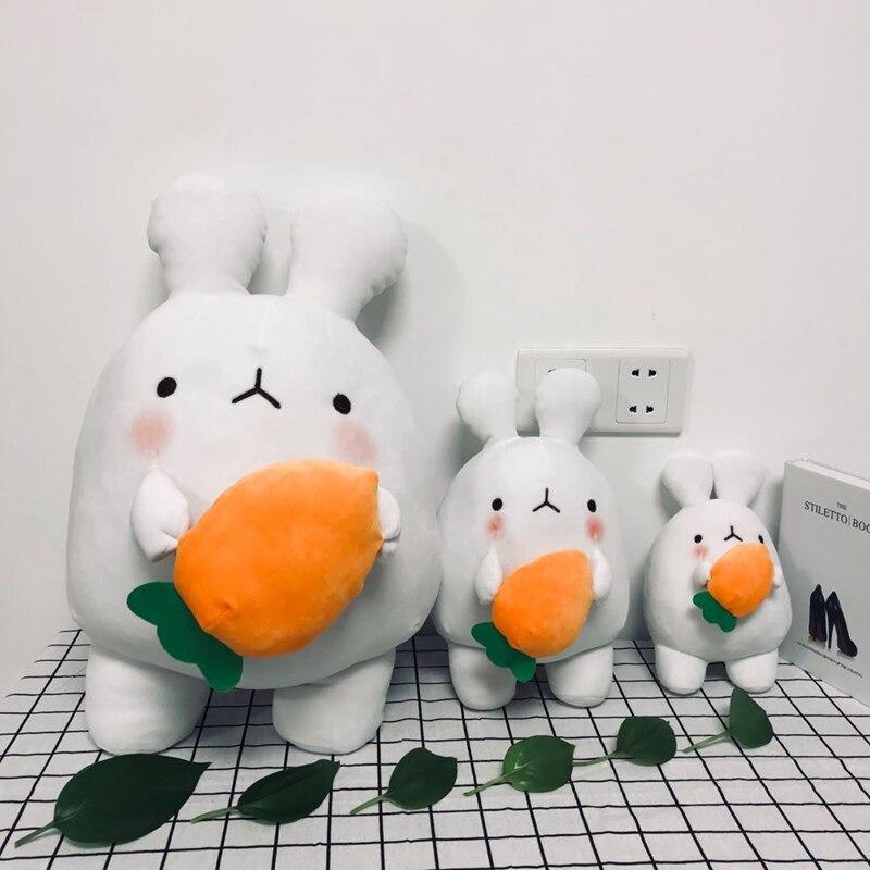 Super Kawaii Potato Rabbit Plush Toy Soft Cartoon Animal Carrot Rabbit Stuffed Doll Baby Appease Bunny Toys Kids Girls Presents