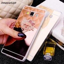 Innovation Luxury Bling Mirror Soft Clear TPU Case For Samsung Galaxy J1 2016 J2 J3 J5 J7 2017 A5 A7 2015 Ultra Thin Back Cover