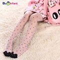 Cute cat girl tights children's sheer 15D stockings for girls kids baby pantyhose cartoon characters tight 2016 summer 1-9Y