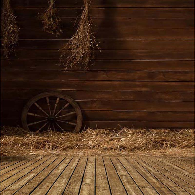 5x7ft Country Barnyard Cottage Barn Straw Backdrops Vinyl Cloth Computer Printed Wall Photography Studio Background In From Consumer Electronics