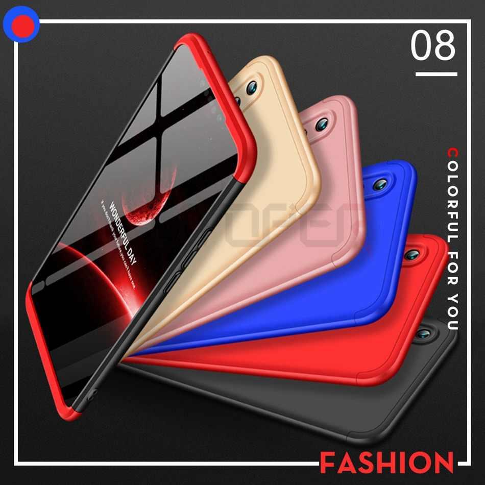 Caso lite 360 Companheiro Tampa Caixa do telefone Para Huawei P20 10 Lite Coque Para Honra 9 Lite Jogo Nota Nova 3I 2I Pro 7A 7X Y6 Prime 2018